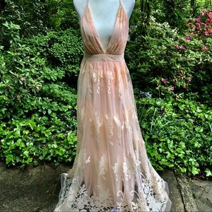 NWT Luxxel Tulle Gown